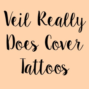 Veil Really Does Cover Tattoos