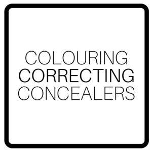 Colouring Correcting Concealers