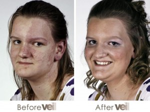 Birthmark Before and After Veil Cover Cream