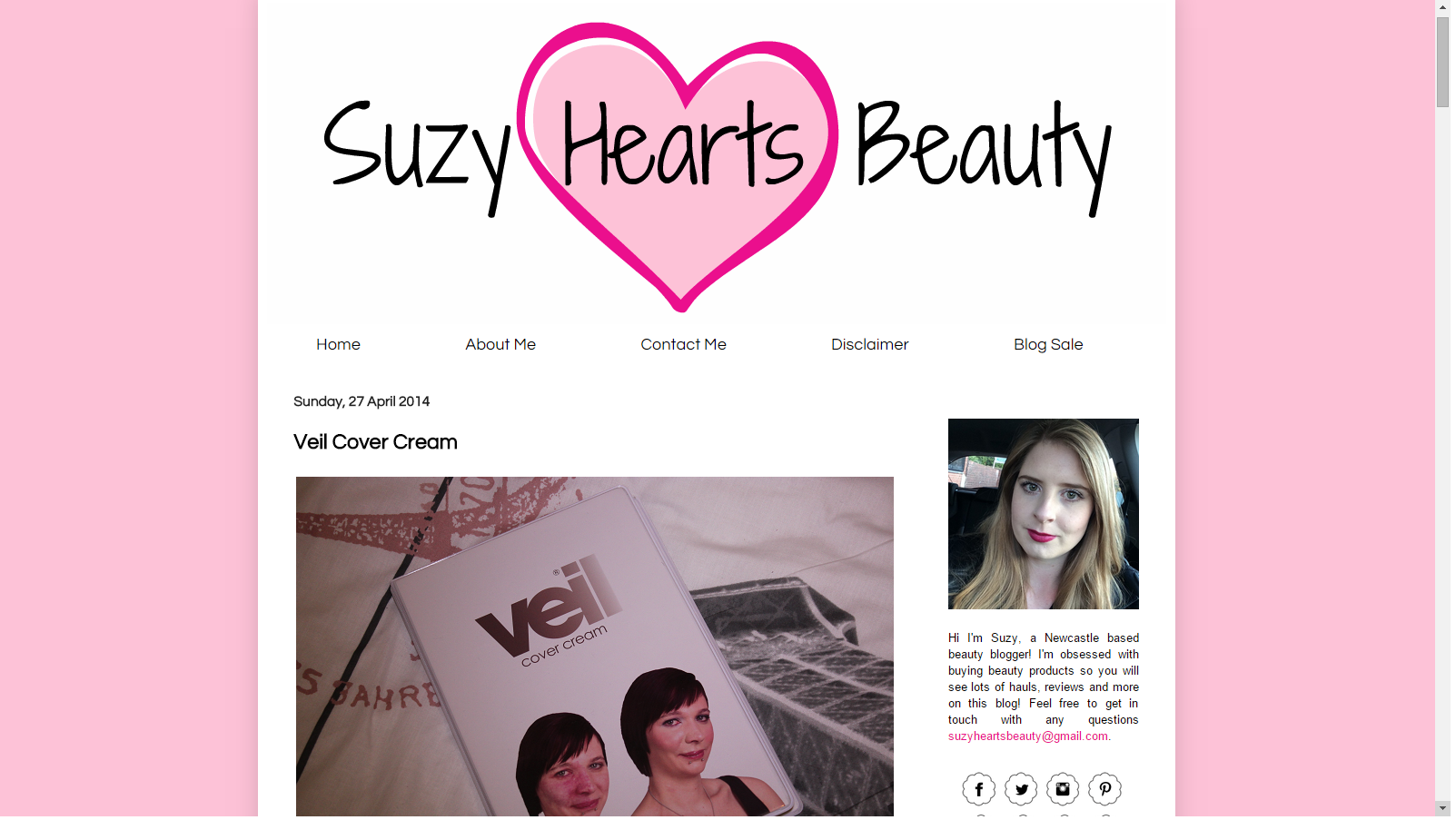 Blast From The Past: The Original Veil Demonstration Kit Featured On Suzy Hearts Beauty
