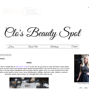 Blast From The Past Clo's Beauty Spot Features Veil Cover Cream