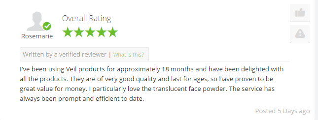 Customers Share Their Thoughts On Veil Cover Cream