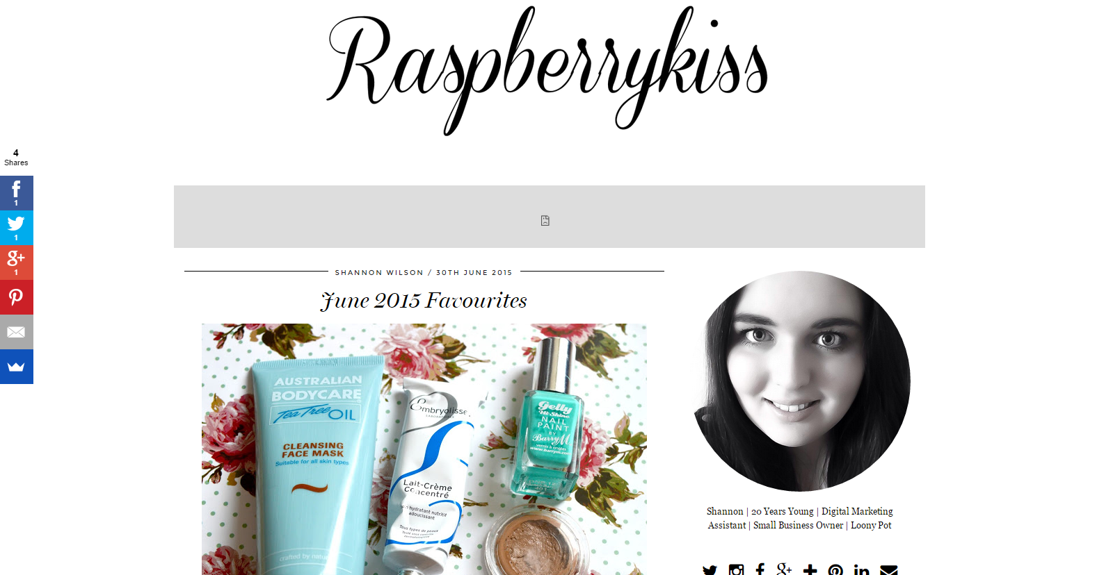 Veil Cover Cream Featured In Raspberrykiss June Favourites