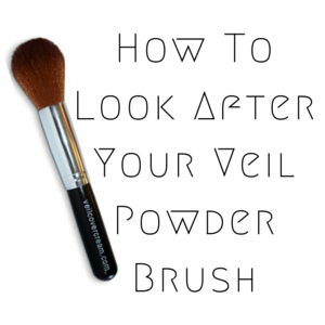 How To Look After Your Veil Powder Brush