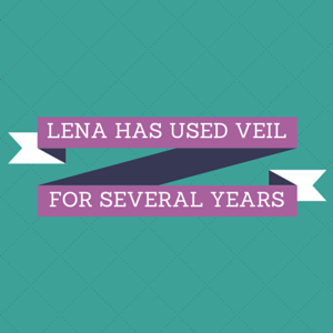 Lena Has Used Veil For Several Years