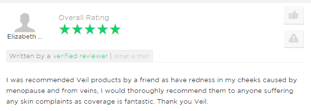 Elizabeth Thoroughly Recommends Veil