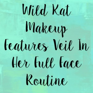 Wild Kat Makeup Features Veil In Her Full Face Routine