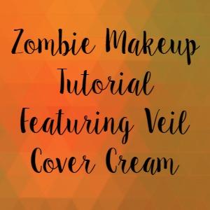Zombie Makeup Tutorial Featuring Veil Cover Cream
