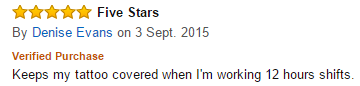 Denise Gives The Veil Tattoo Kit Five Stars