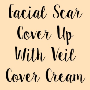 Facial Scar Cover Up With Veil Cover Cream