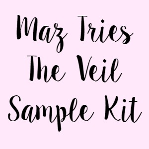 Maz Tries The Veil Sample Kit