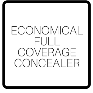 Economical Full Coverage Concealer