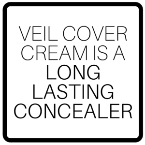Veil Cover Cream Is A Long Lasting Concealer