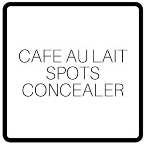 Cafe Au Lait Spots Concealer