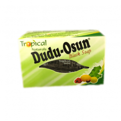 A photograph of Dudu Osun African Black Soap