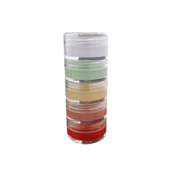 A picture of the Veil Cover Cream Colour Corrector Stack, a product designed to counteract a range of tones in the skin like redness, dullness and purple tones.