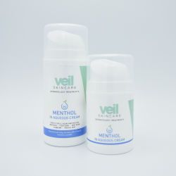 Veil Menthol in Aqueous Cream Is The Ultimate Skin Cooling Treatment