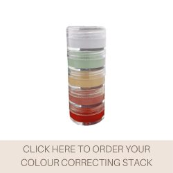 This is a photo of the Veil Colour Correcting Stack, a product designed to counteract unwanted tones in the skin.