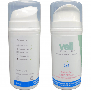 Treat Cover Rosacea With New Skincare And Cover Cream Range Veil