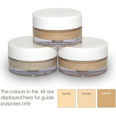 Set of Three Tattoo Camouflage Creams - Light to Medium